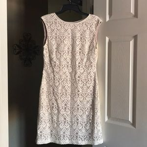 Lace dress by Jessica Howard